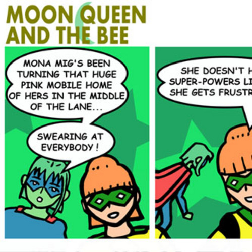 Product picture Moon Queen and the Bee Syndication Pack 1